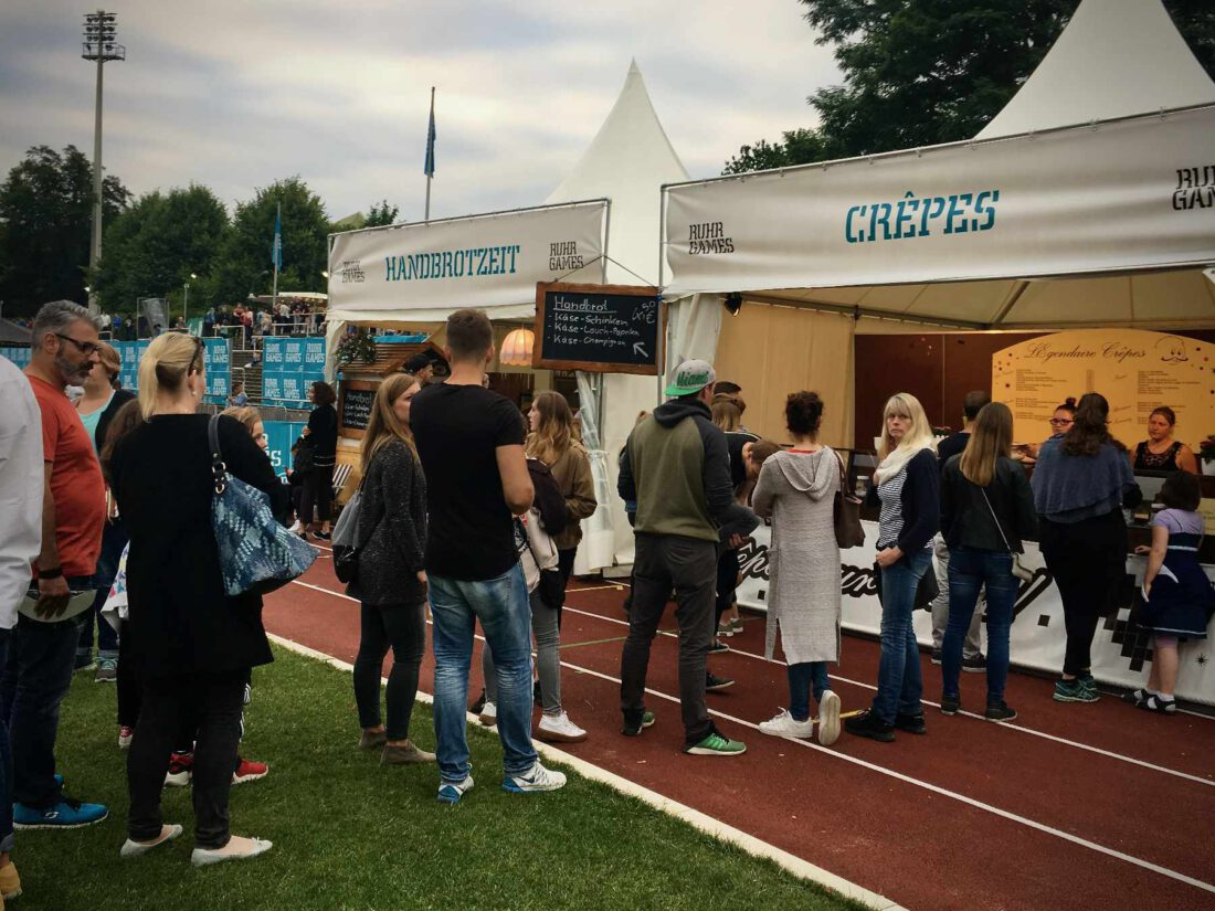 Ruhr Games Public Catering ©Wiesel Services GmbH
