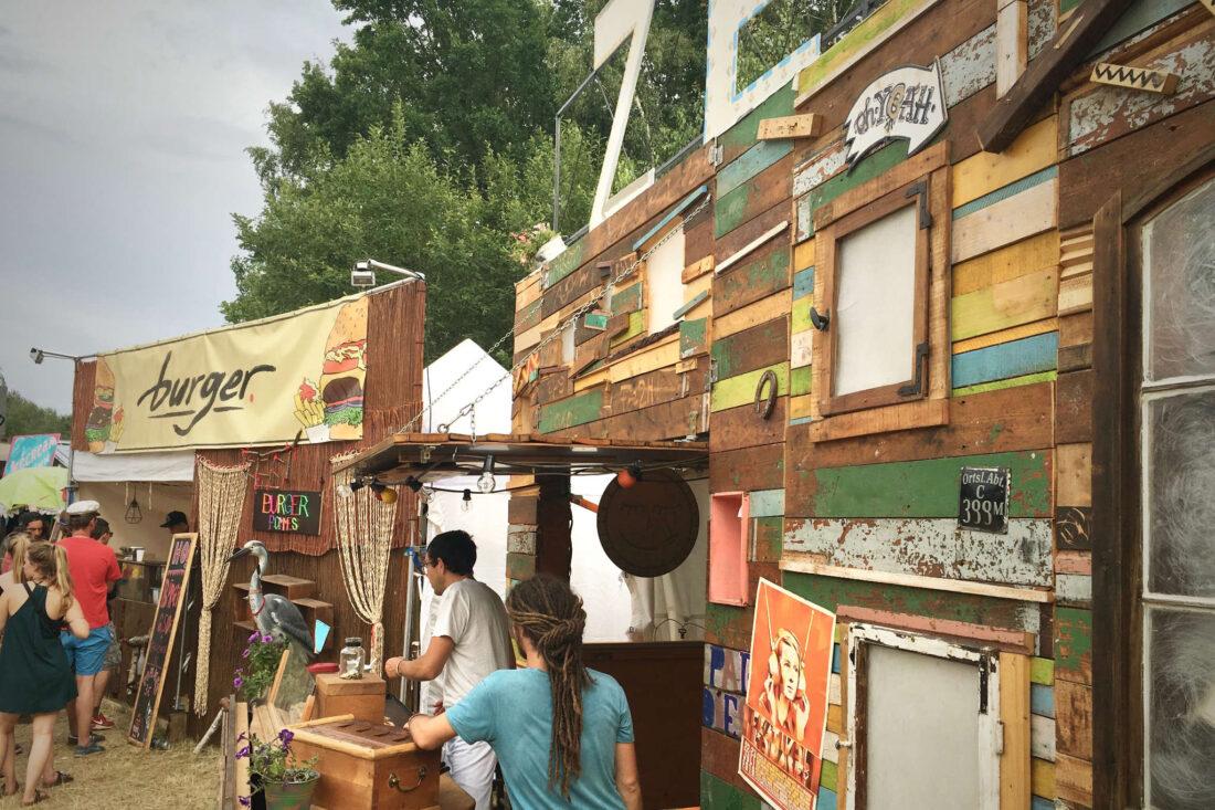 Festivalgastronomie Handbrotzeit und Burger