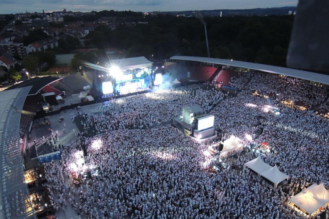 Hessentag Just White Stadioncatering