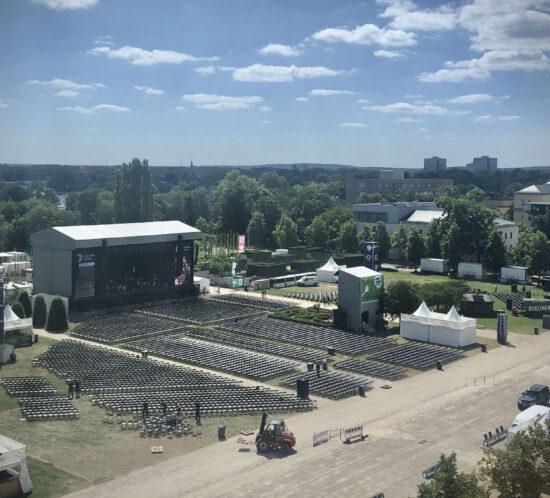 Stadtwerke-Fest Potsdam Blick Klassik Konzert